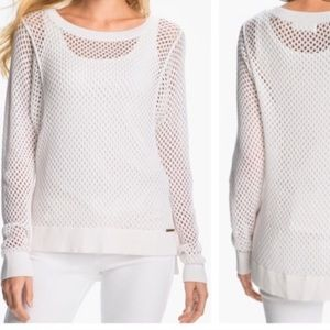 Michael Kors White Knit Pullover Sweater